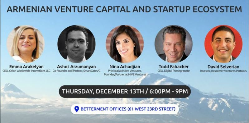 Speaking at Armenian Banking & Finance Network Event @ Betterment