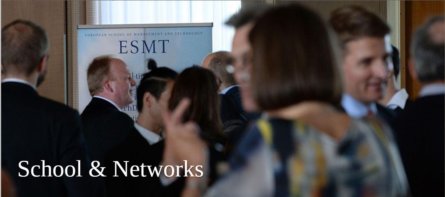 Europe Book Tour: ESMT, Berlin, Germany (February 13, 2019) @ ESMT Berlin School