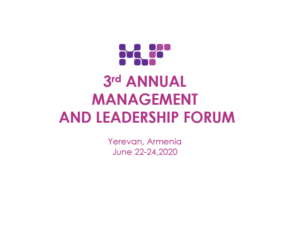 Speaker and Organizer MLF Global 2020 in Yerevan, June 22-24, 2020 (POSTPONED) @ Yerevan City
